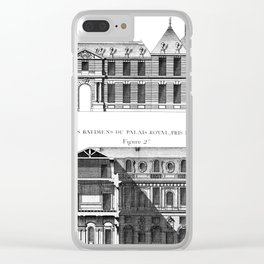 Palais-Royal on the rue St. Honoré 1754 Clear iPhone Case