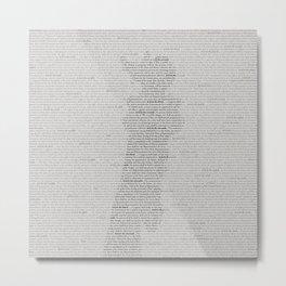 RESOLVED Metal Print