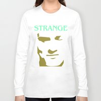 smiths Long Sleeve T-shirts featuring Strange Strangeways (The Smiths inspired) by Trendy Youth