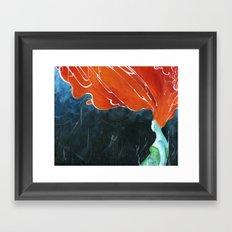 hurricane Framed Art Print