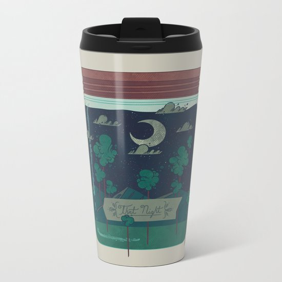 Memento Metal Travel Mug