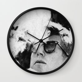 JFK Cigar and Sunglasses Cool President Photo Photo paper poster Wall Clock