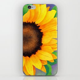 Watercolor Sunflowers iPhone Skin