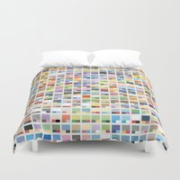 pantone Duvet Covers featuring Complete Poke-Pantone  by Zeke Tucker
