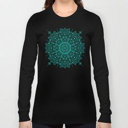 Moroccan Mandala – Turquoise Palette Long Sleeve T-shirt