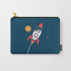 Bottle Rocket to the Milky Way Carry-All Pouch