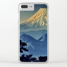 Seeing Far Within at Yonu Clear iPhone Case