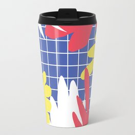 Memphis Leaves Jungle Travel Mug