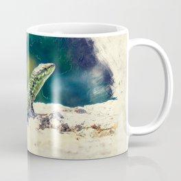 Erice art 11 Podarcis sicula Coffee Mug