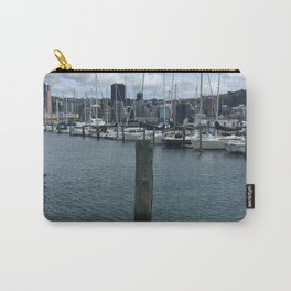 Boats In Chaffers Marina Carry-All Pouch