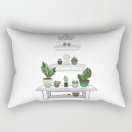 Garden Pyramid Rectangular Pillow