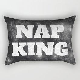 Nap King print Rectangular Pillow