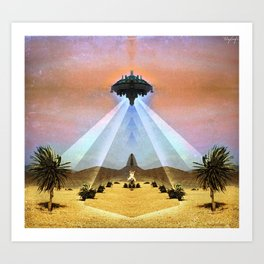 Astral Messenger Art Print