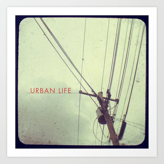urban life project Art Print