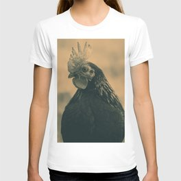 Rooster in Sepia T-shirt