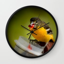 Yum Wall Clock