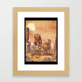 Gaillards Framed Art Print