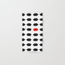 The red lips Hand & Bath Towel