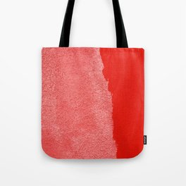 Two Times Red Tote Bag