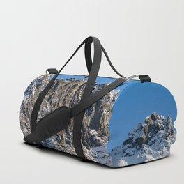 Fresh Snow-Alaskan Mountain Top Duffle Bag