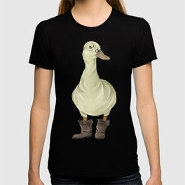 duck in boots  T-shirt