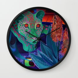 Whispers of the night. Wall Clock