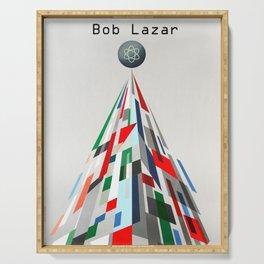 Bob Lazar Serving Tray