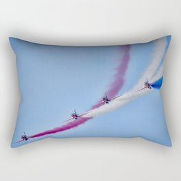 The Red Arrows  Rectangular Pillow