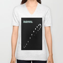 Analemma. Unisex V-Neck