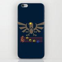 bioshock infinite iPhone & iPod Skins featuring Bioshock Infinite: Song of the Songbird by Macaluso
