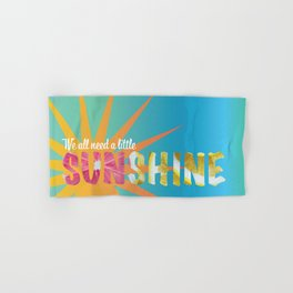 A Little Sunshine Hand & Bath Towel