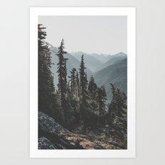 First Light  Art Print