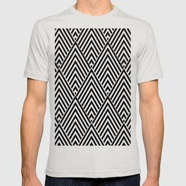 Triangle in Diamonds. T-shirt