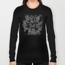 As If – Black & Gold Long Sleeve T-shirt