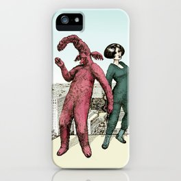 Dancing on the roof iPhone Case