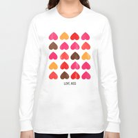 ass Long Sleeve T-shirts featuring LOVE ASS by Lulla
