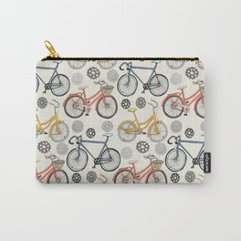 Just Keep Pedalling Carry-All Pouch
