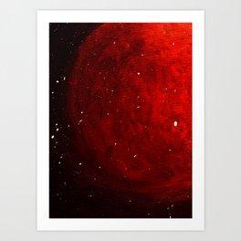 Planet Fire Art Print