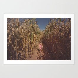 The Maize Art Print