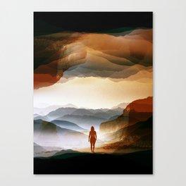 Quiet Heat Canvas Print