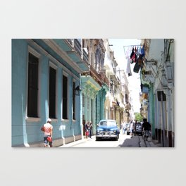 VIVA CUBA Canvas Print