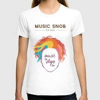paramore T-shirts featuring MORE Music to DYE for — Music Snob Tip #075.5 by Elizabeth Owens
