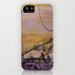 Cranes and Martyrs iPhone Case