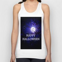 halloween Tank Tops featuring HALLOWEEN by Whimsy Romance & Fun