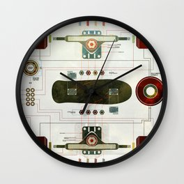 The Anatomy of a Skateboard Wall Clock