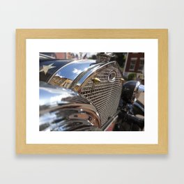 Car Decal Framed Art Print