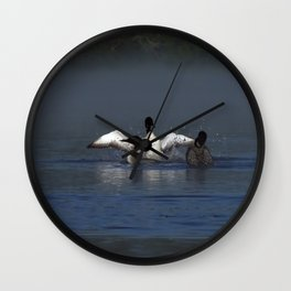 loon wave Wall Clock