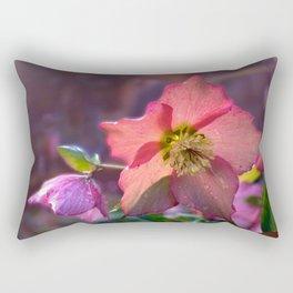 Hello Hellebore Rectangular Pillow