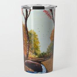 Höstlig Mantel Travel Mug