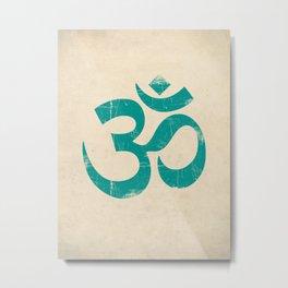 Om Symbol Art Print Metal Print